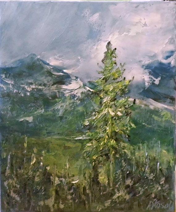 Tatry mountains by SztuknijSie on Etsy