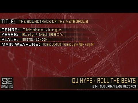 Dj Hype - Roll The Beats (Suburban Base Records | 1994) - YouTube