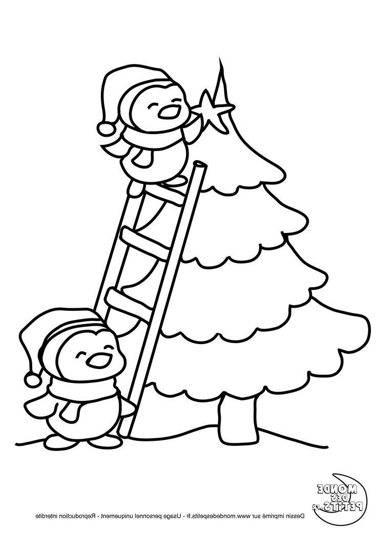 Coloriage De Noël . 15 Divers Coloriage De Noël Collection. Coloriage étoile Filante De Noël à ...