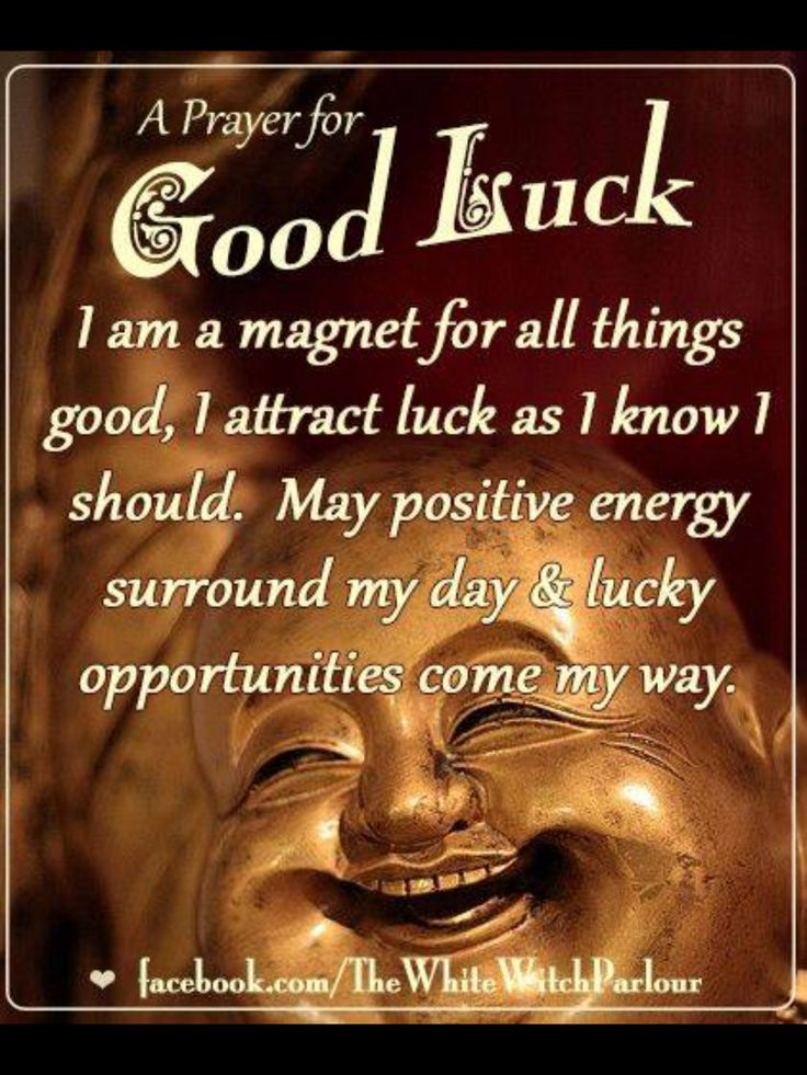 •°• P a g a n Magick •°• ✨ A good luck prayer.