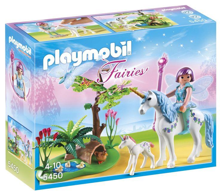 Playmobil - 5450 - Figurine - Fée Aquarella Avec Licornes: Amazon.fr: Jeux et Jouets