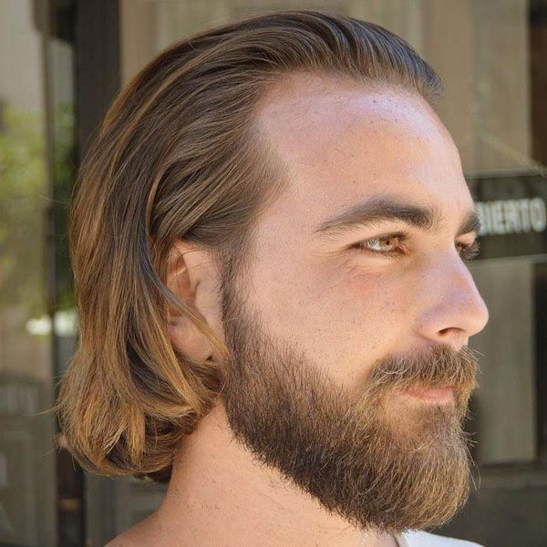 The Best Hairstyles For A Receding Hairline 2020 Haircut Styles Long Hair Receding Hairline Medium Hair Styles Long Hair Styles Men