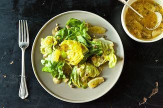 April Bloomfield's Lemon Caper Dressing Recipe ...A dressing that will push you to your limits, and make you beg for more.