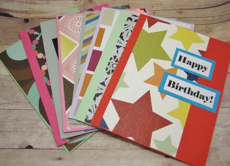 75 best unique greeting card designs images on pinterest card happy birthday card set variety birthday card pack greeting card pack girls and boys birthday card set cards for everyone handmade card set bookmarktalkfo Images
