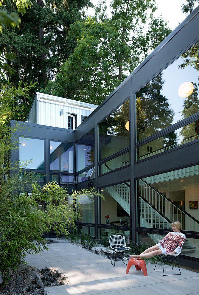 MCM Lakehouse By Schemata Workshop · Commercial ArchitectureContemporary  HousesHouse ArchitectureExterior DesignDream ...