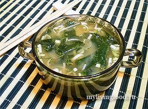 siroedcheskii miso sup Сыроедческий мисо суп