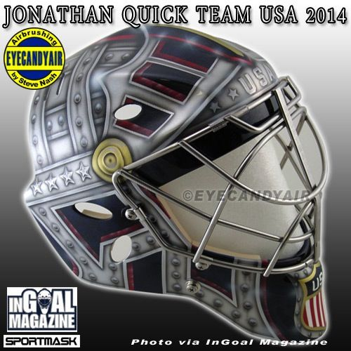Tomb of Unknown Soldier on Quick's Olympic Mask - The Goalie ...