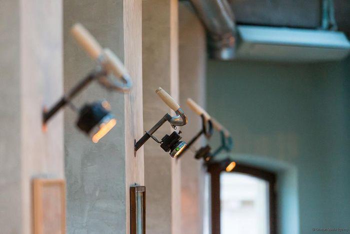 Vi piacciono queste simpaticissime lampade? Ricavate dal manubrio della #bicicletta? Buona serate da newpop