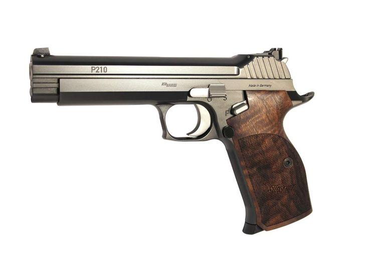 Wolverine Supplies - Online Gun Store   Product Details   SIG Sauer P210 Legend Target 9mm