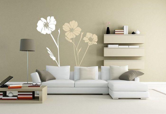 Виниловые наклейки на стенах – Полезные советы