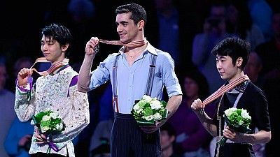 Javier Fernández revalida su título en Boston y se convierte en bicampeón del mundo