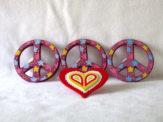 Decorative Outlet Socket Covers Peace Love Baby and Kids Room ...