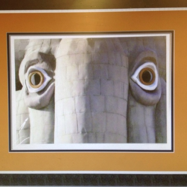 """Lucy the Elephant, Margate NJ:  """"In your eyes I see...."""""""