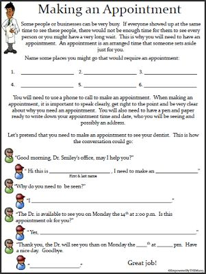 Printables Daily Living Skills Worksheets 1000 ideas about life skills lessons on pinterest empowered by them worksheets