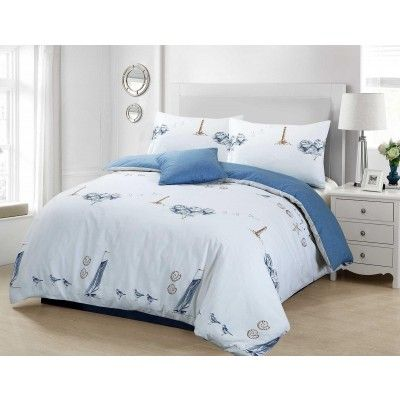 BeachComber Duvet Cover With Pillow Case Set