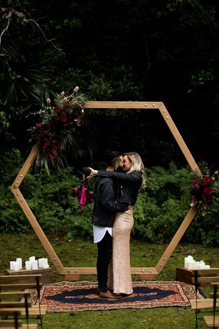 Hexagon Arbour Arch Wedding For hire on our website www ...