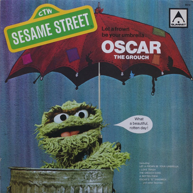 1000 Sesame Street Quotes On Pinterest: 48 Best Images About Oscar The Grouch On Pinterest