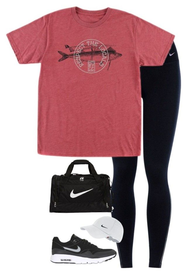 """""""new"""" by tessorastefan ❤ liked on Polyvore featuring NIKE and O'Neill"""