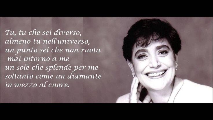 Mia Martini - ALMENO TU NELL'UNIVERSO + testo