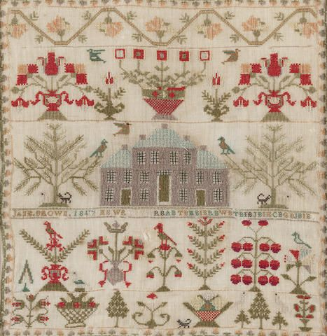 A George III Scottish sampler