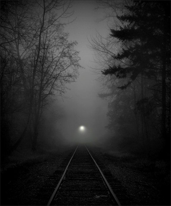 Just last night I saw the light, At the end of that tunnel on the other side, Thought I found my way outta this pain, Only to find your memory train. - Creepin'