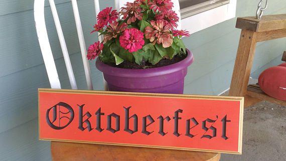 Oktoberfest Outdoor PVC Board Sign