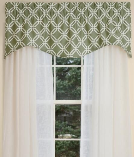 Valances For Windows, Windows Valances, Valance Scarf, Valance Treatments    Country Curtains®