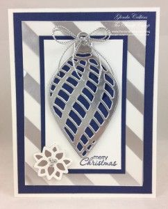 Stampin' Up! Embellished Ornaments | The Stamp Camp