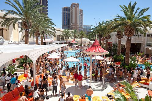 Encore Pool party @ the Wynn in Las Vegas.  Goin' there in June.  Can't wait!