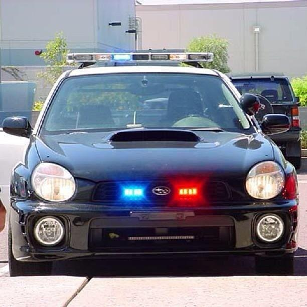 Subaru Police You Canu0027t Outrun This One