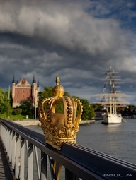 Skeppsholms Crown, Stockholm, Sweden