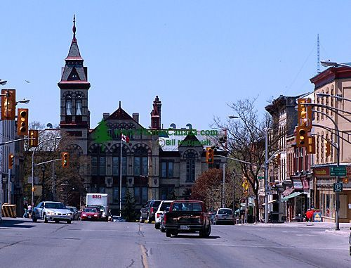 Stratford, Ontario: One of the most beautiful towns I have visited in Ontario.  Great theatre life and gorgeous old buildings.  Not much in the way of a bar scene or restaurant selection, but perfect for a mini-break, especially during the Stratford festival season. (pic credit: photoscanada.com)