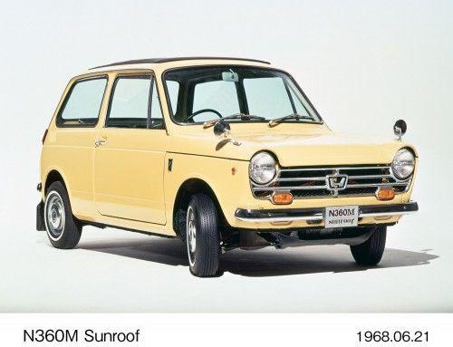 1968 Honda N360M