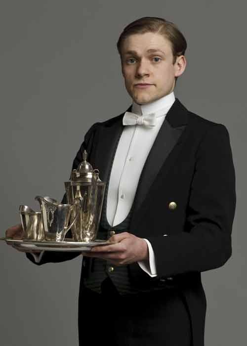 William Mason, Footman - played by Thomas Howes. Thomas will appear on Canadian CBC series Murdoch Mysteries as young Winston Churchill