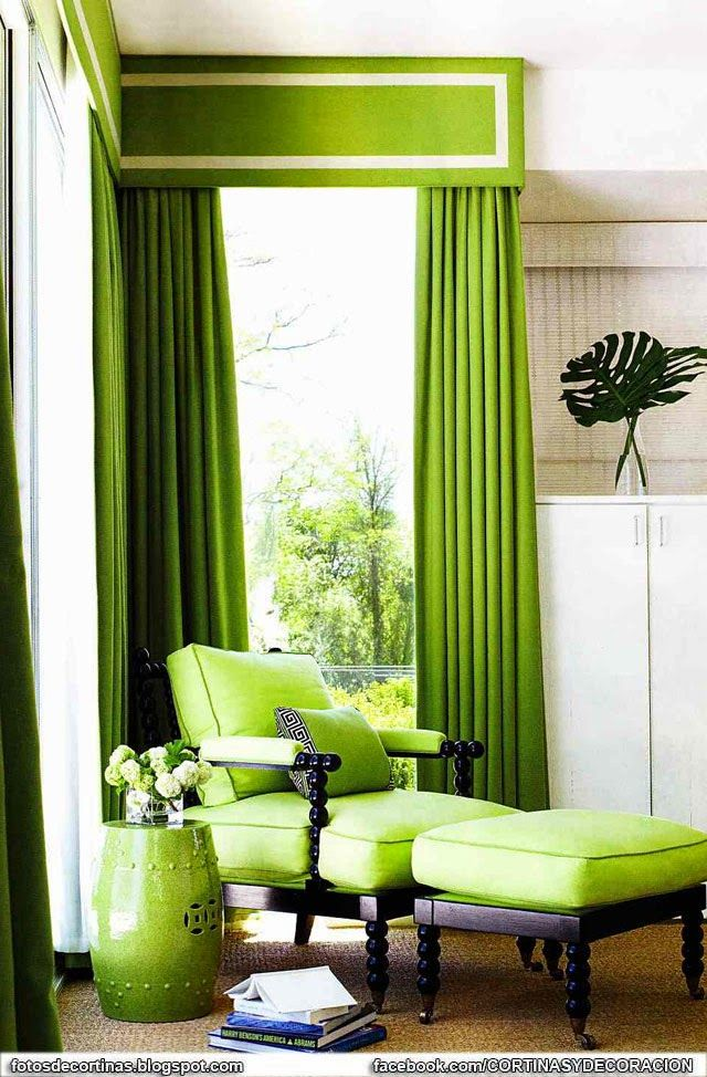 M s de 25 ideas fant sticas sobre cortinas verdes en for Quiero ver cortinas