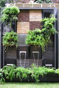 Les 25 meilleures id es concernant habiller un mur exterieur sur pinterest - Habiller un mur exterieur en bois ...