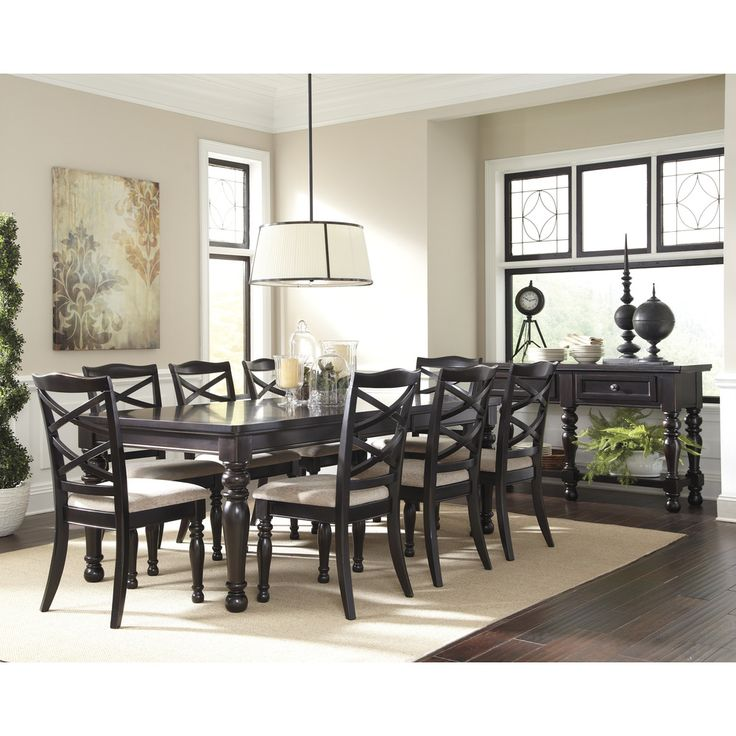 Signature Designs By Ashley Harlstern Rectangular Dining Room Extension  Table | Overstock.com Shopping