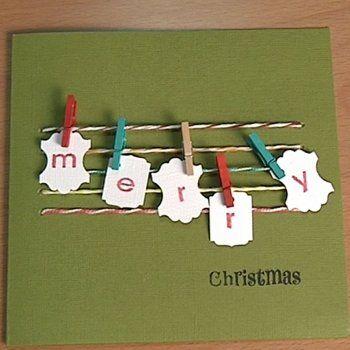 ideas de postales de navidad para nios