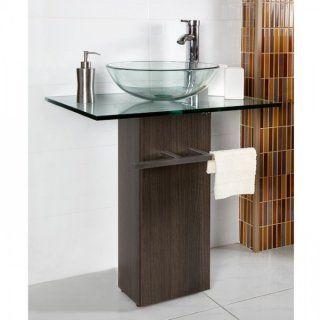 Lavamanos de Vidrio Transparente Vesel  - EASY:
