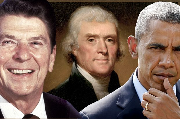 Thomas Jefferson's torturous afterlife: How Ronald Reagan and the Tea Party try to steal his legacy