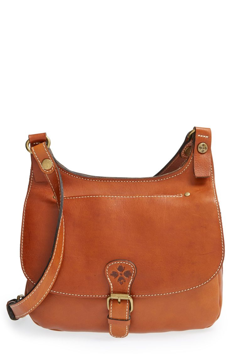 Patricia Nash 'Heritage London' Leather Crossbody Bag