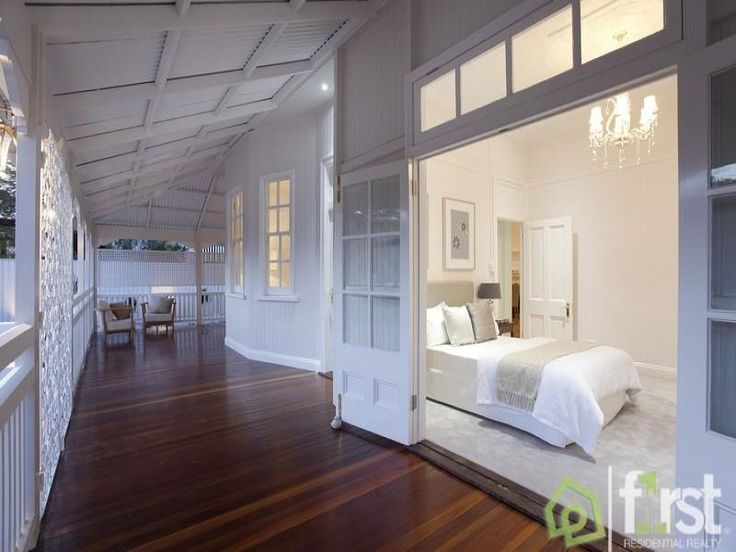 A View on Design: East Brisbane Classic Queenslander Home - wider doors and windows above