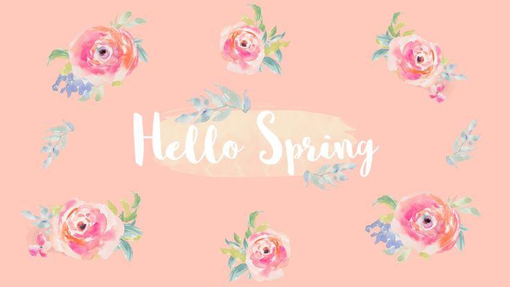 Free Spring Desktop Wallpapers | Elizabeth Anne