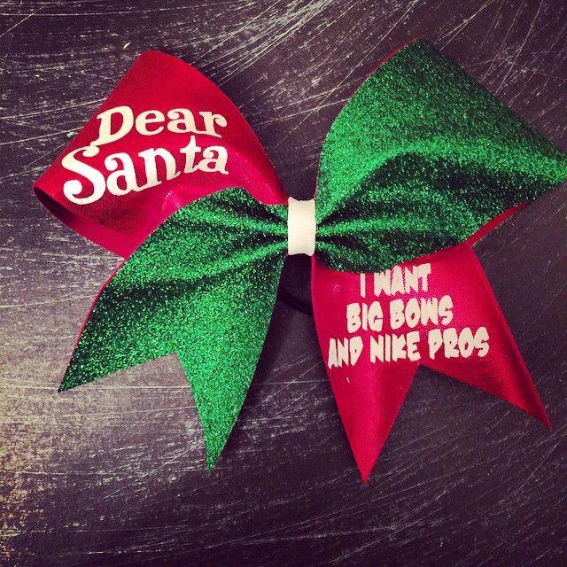Dear Santa i want big bows and nike pros $14 via @shopseen
