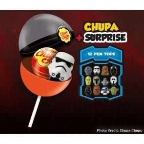 Chupa Chup Surprise Star Wars - 16 Units