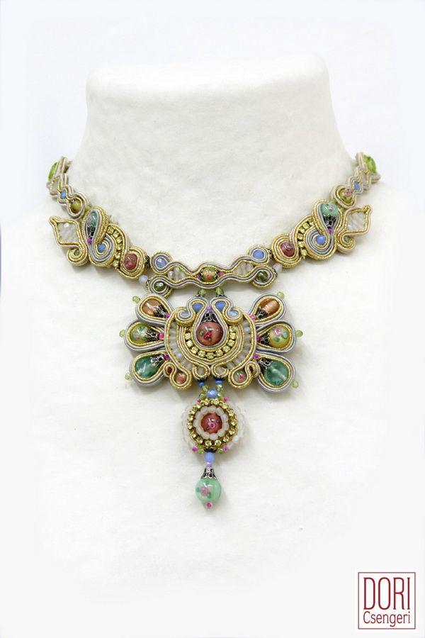 Amazing Soutache Jewelry by Dori Csengeri ~ The Beading Gem's Journal