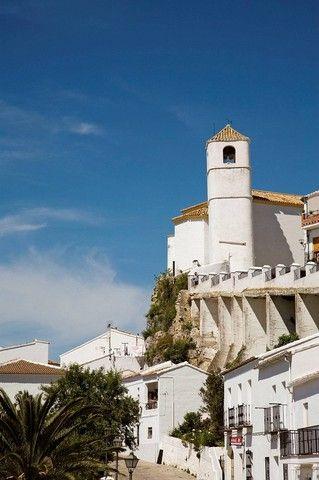 Zahara de la Sierra, Pueblos Blancos , provincia de Cádiz, Andalucía, España