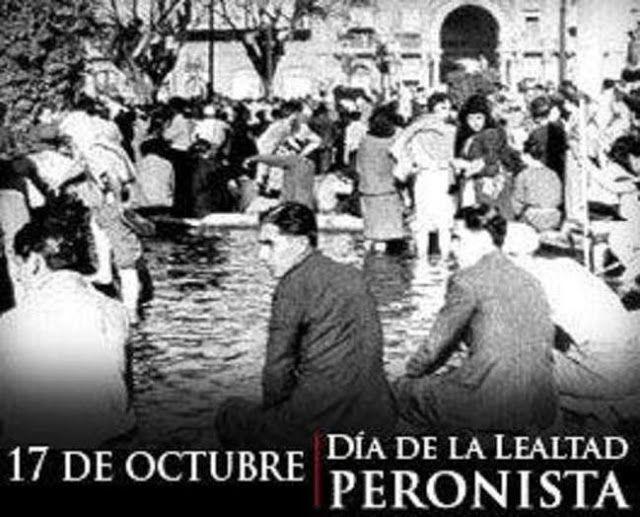 EL PARTIDO JUSTICIALISTA CONVOCA A UN ACTO POR EL 17 DE OCTUBRE   1945 - 17 DE OCTUBRE  2016 DIA DE LA LEALTAD HACE 71 AÑOS LOS TRABAJADORES ARGENTINOS TOMARON LA PLAZA DE MAYO PARA RECLAMAR LA LIBERTAD DE SU LIDER EL CNEL JUAN DOMINGO PERON Y CAMBIARON LA HISTORIA DE LA PATRIA PARA SIEMPRE Acto conmemorativo lunes 17 de octubre de 2016 a las 19 horas con la participación de las asociaciones y sindicatos de trabajadores de Necochea y de todas las agrupaciones políticas que tienen en Juan…