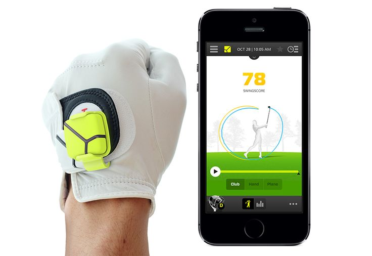 golf swing analyzer that syncs with your iPhone! Perfect #fathersday gift!