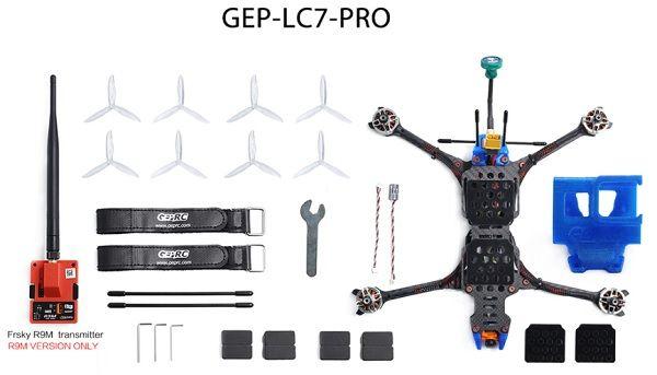 Geprc Crocodile 7 Gep Lc7 Long Range Gps Fpv Drone Fpv Drone Drone Fpv